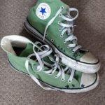 Alesha's green'Chucks'